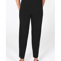 Size Small Navy Tapered Leg Crepe Pants