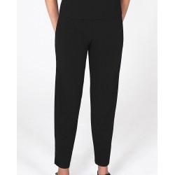 Size Large Petite/Short Brown Crepe Pants