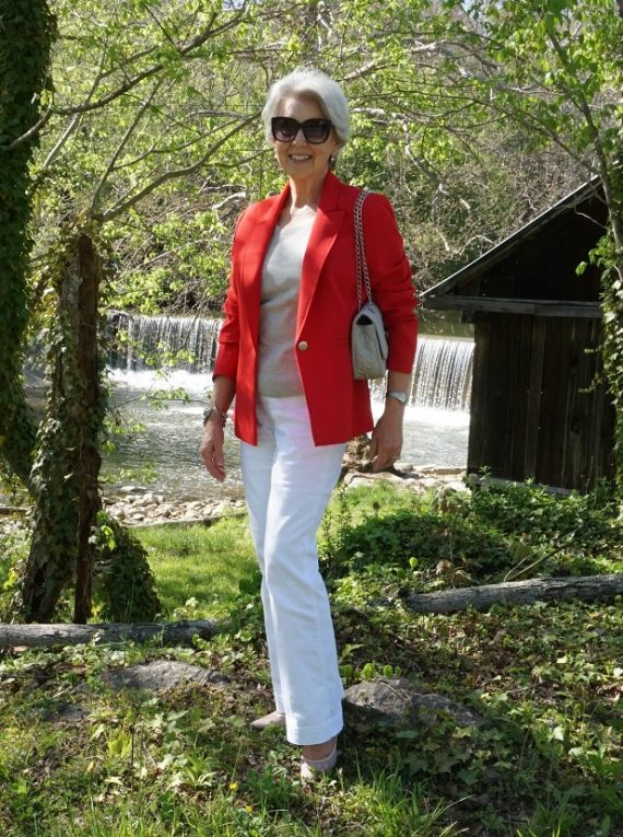 The Red Blazer Outfit - Susan Street
