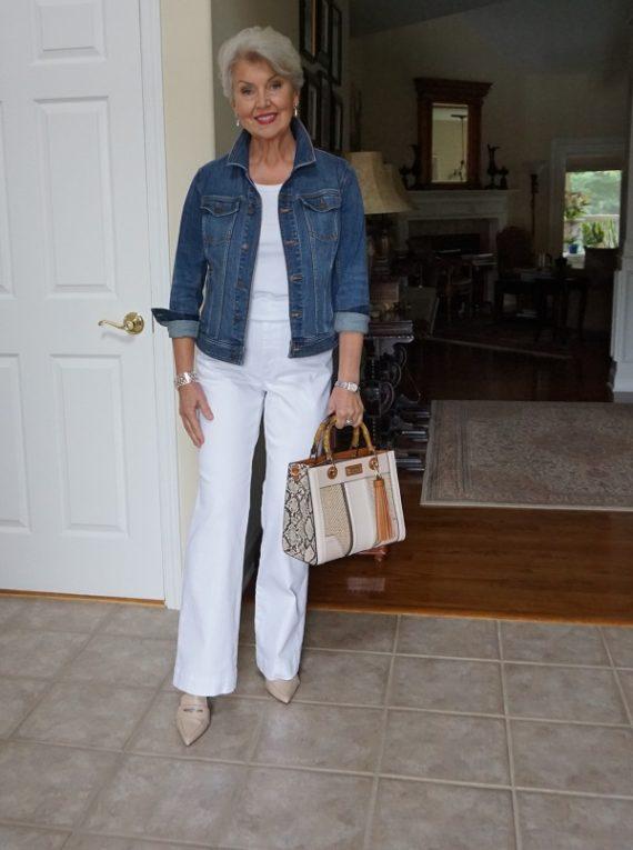 A Denim Jacket Outfit - Susan Street