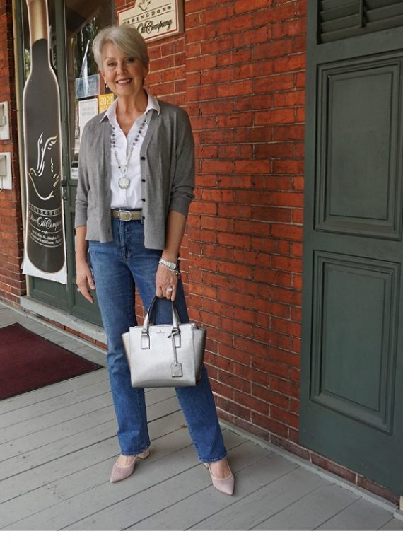 Cardigan Styling Tips Outfit - Susan Street